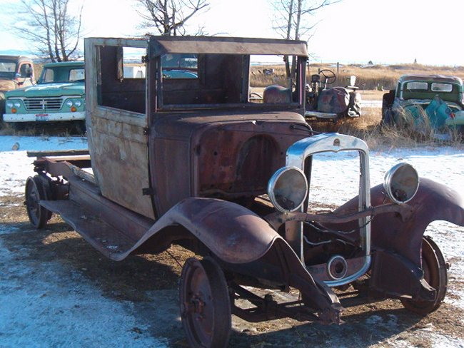 1926 chevy truck idaho nose