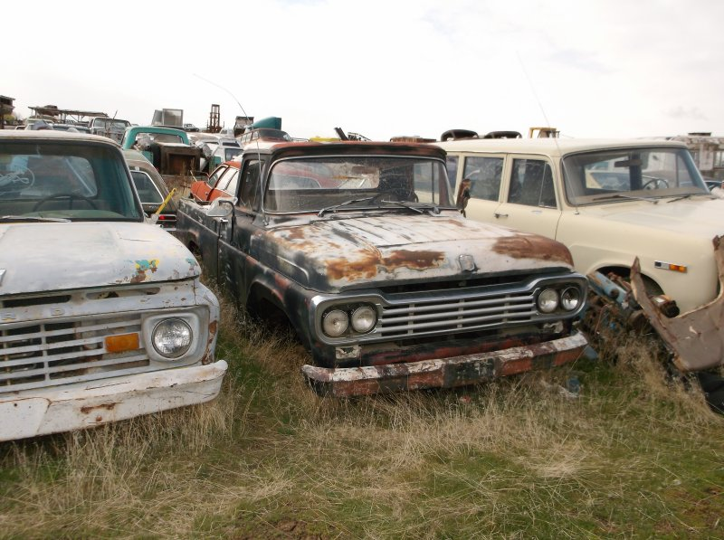1957 To 1960 Ford F100 Parts Pickup