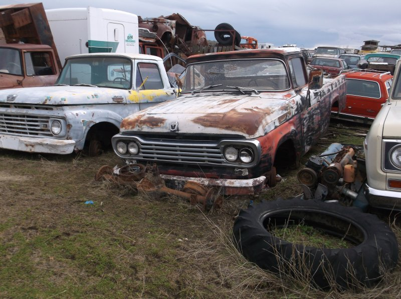 1970 Chevy Pickup >> 1957 to 1960 Ford F100 Parts Pickup