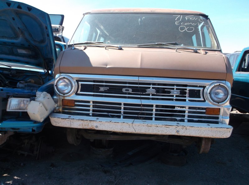 ford econoline vans parts   1968 to 1974
